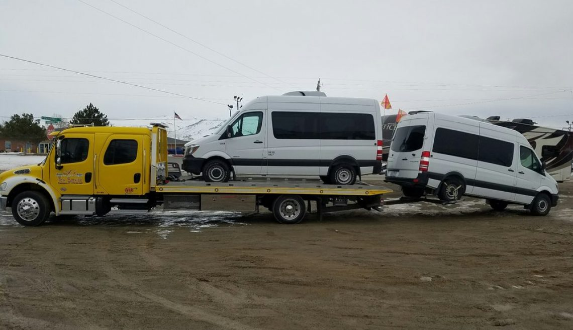 A-1 Trucking Moving Two Sprinter Vans
