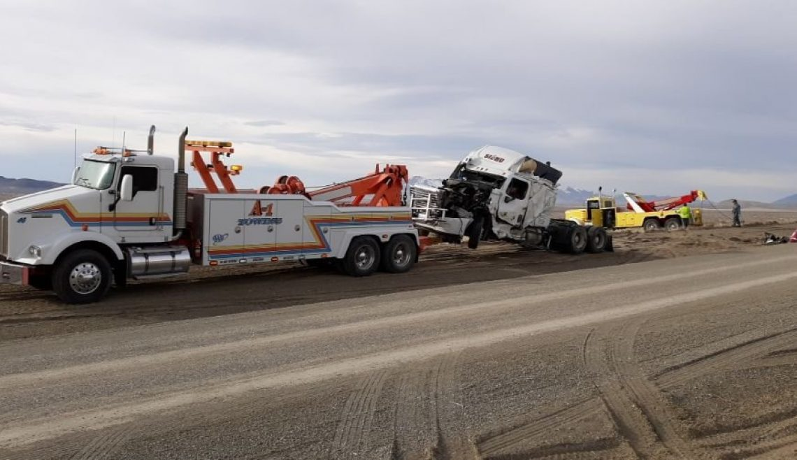 Big Rig Rescue After Wreck