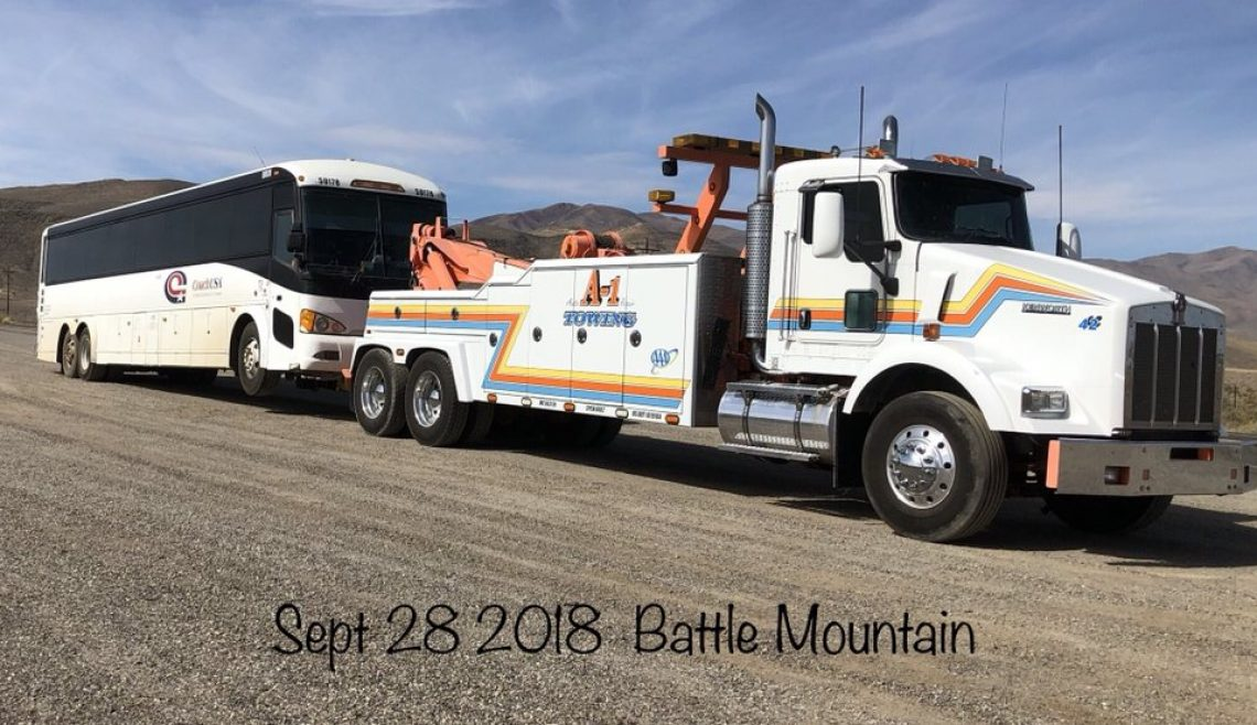 Mine Bus Rescue Battle Mountain