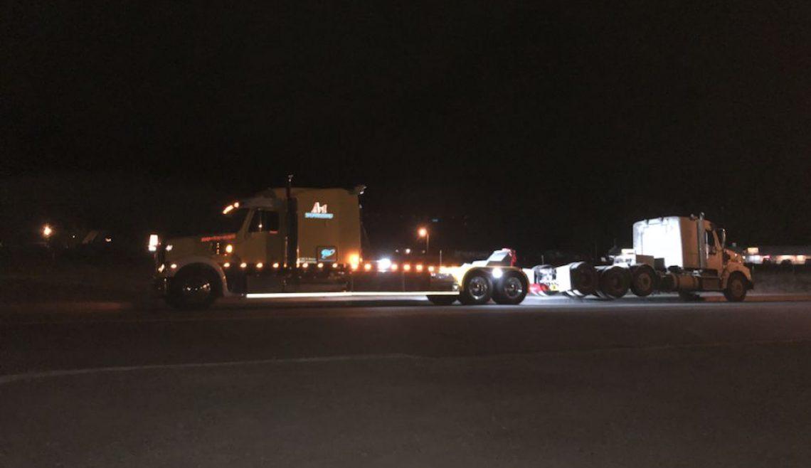 Nighttime Truck Rescue