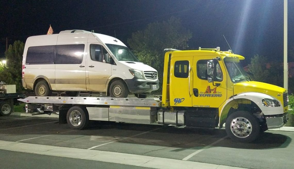 Sprinter Van Recovery
