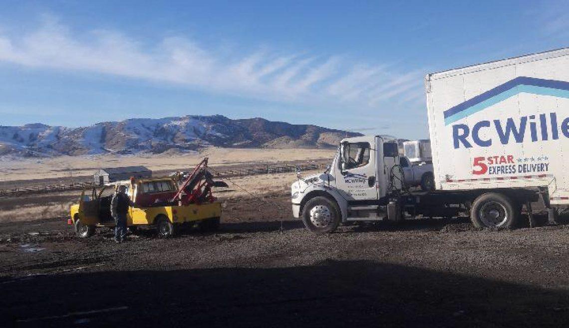 Stuck Truck Rescue